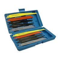 Toolzone 10pc Reciprocating Saw Blades - Set Cutting Sabre Wood Metal 10x