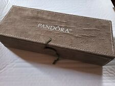 Pandora faux Suede Jewelry Box