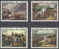Timbres Napoléon Arts Tableaux Congo PA80/3 ** lot 18798