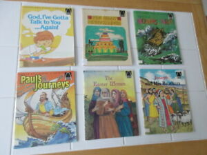 ARCH Books Children's Quality Religious Learning Bible Story Christian Lot of 6