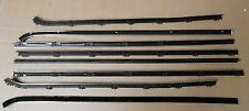 Mopar 68 69 70 Coronet 2dr Hardtop  Window Sweeps Fuzzies Whiskers Felts  NEW