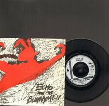 "ECHO & The BUNNYMEN The Pictures on My Wall SINGLE 7"" Read it in Books 1979"