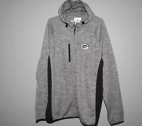 NFL Green Bay Packers Full Zip Hoodie New Mens Sizes MSRP $80
