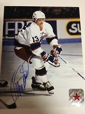 TEEMU SELANNE Signed Winnipeg Jets Autographed 8x10 Photo NHL COA 1