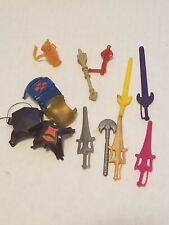 VINTAGE MOTU Masters of the Universe He-Man SWORD  Weapon Accessory Parts Lot