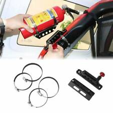 Car Bar Fire Extinguisher Holder Mount Bracket Adjustable Fit for Jeep Wrangler