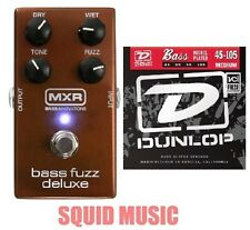 MXR Deluxe Bass Fuzz Effects Pedal M-84 ( FREE SET OF BASS STRINGS ) M84 DUNLOP