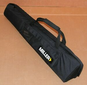 """Miller 1518 Padded Tripod Bag / Case for Solo Tripod 32""""L x 6"""" ID Good Condition"""