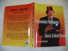 TOMMY COOPER, JUST LIKE THAT, JEREMY NOVICK CHAMELEON 1ST ED 1998 DUSTWRAPPER