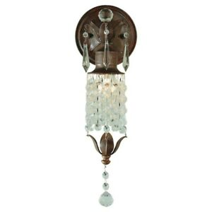 Feiss Maison De Ville 1-Light Wall/Bath Light, British Bronze - WB1216BRB