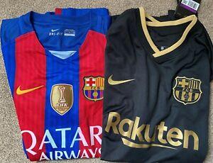 Barcelona 2016-2017 Shirt Messi XL + free away shirt 2XL