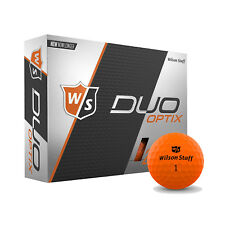 Wilson Staff Duo Soft Optix Harvest Moon Low Compression Golf Balls, 1 Dozen