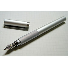 MOMA MUJI Aluminum Fountain Pen Fine nib