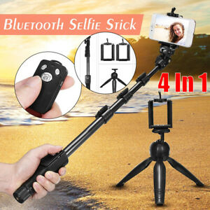 bluetooth Extendable Selfie Stick Monopod Handheld Tripod For Cell Phone A+