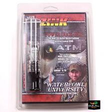 New Zink Calls Atm Double Reed Mallard Hen Duck Call Gun Smoke Poly Dvd Combo