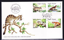 VIETNAM 1997 THE WILD ANIMALS   F.D.C ..