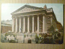 Postcard- ROYAL EXCHANGE & BANK, LONDON