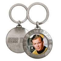 Star Trek Star Fleet Metal Keychain Captain James T. KIRK MINT 2016