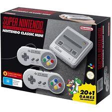 **250+ GAMES** Nintendo SNES Classic Edition Mini Console AU Australian