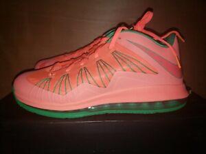 Nike LeBron X Low Watermelon Men's Size  11.5  DS Deadstock