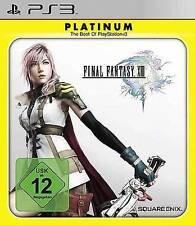 PLAYSTATION 3 Final Fantasy XIII 13 PLATINUM guterzust tedesco.