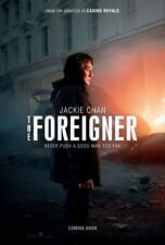 The Foreigner - original DS movie poster - 27x40 D/S 2017 Advance Jackie Chan