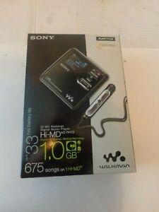 New Sony Hi-MD Walkman MZ-RH10 -MP3 Digital Music Player