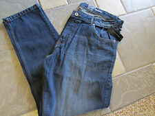 NEW SEAN JOHN BEDFORD CLASSIC STRAIGHT JEANS MENS 40X32 VINTAGE MED FREE SHIP!