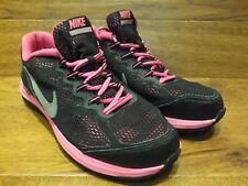Nike Dual Fusion Run 3 Black / Pink Running Shoes Casual Trainers UK 5.5 EU 38.5