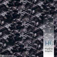 FILM HYDROGRAPHIC M16 GRENADE FUSIL PISTOLET AIR SOFT CASQUE MASQUE MANETTE PS3