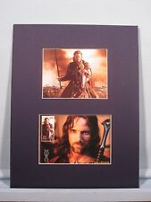 Aragorn of Lord of the Rings & First Day Cover of his own stamp from New Zealand