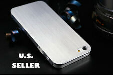 IPHONE 5 CASE 5S SILVER **FREE SHIPPPING**