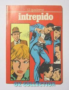QUADERNO VINTAGE A5 quadretti _ INTREPIDO by Sterzi Carta anni '80 con fumetto