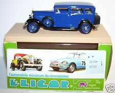 ELIGOR MERCEDES BENZ 1929 LIMOUSINE NURBURG BLEU FONCE REF 1043 1/43 IN BOX