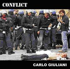 CONFLICT 'Carlo Giuliani' + enhanced DVD anarcho punk rock Mortarhate 2003 CD-S