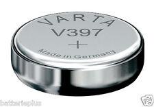 10 piezas Varta 397 Batería de Reloj 1,55v SR726SW/V397