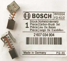 Véritable Charbons Bosch 2607034904 2607034901 & 2607034900 BS9G