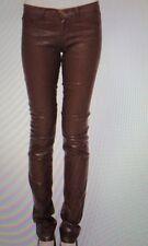 J Brand Pencil Leg Skinny Jeans--Turbulent Coated Clay-- Size 24