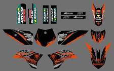 NEW GRAPHICS DECALS FOR KTM SX50 SX 50CC 50 KTM50 2009 2010 2011 12 2013