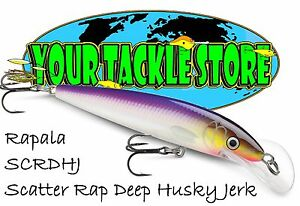 Rapala SCRDHJ10 Scatter Rap Deep Husky Jerk Pick Color & Quantity NIP