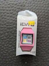 Silicone Pink Watch Band iPod Nano 6 Generation Wrist Strap Case Cover Bracelet