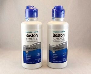 Bausch + Lomb Boston ADVANCE Conditioning Solution ~ 2 bottles 3.5 FL oz each