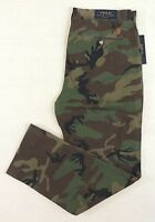 Polo Ralph Lauren Pony Camo Military Army Classic Fit Khaki Chino Pants 32 33 34