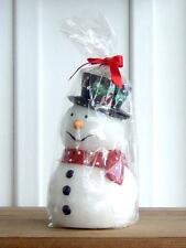"Nos Mint Snowman Candle 7"" Tall / Not a Candle Holder"