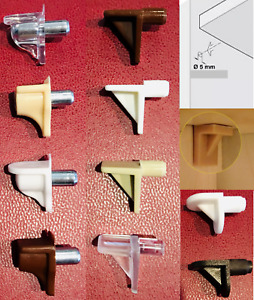 Shelf Supports Pegs Pins Plugs Studs In 5mm Hole Size Kitchen Cupboard Cabinet