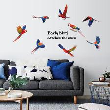 Bird Wall Stickers 3D Decals For Kids Room Mural Art Wallpaper Decoration Home