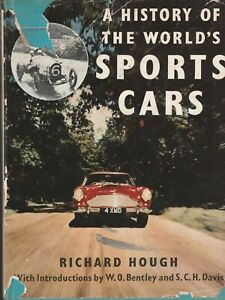 A History of the World's Sports Cars,Road & Race,Richard Hough,1st Edition,1961