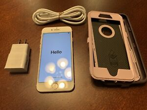 Apple iPhone 7 - 256GB - Rose Gold (Sprint) A1660 (CDMA + GSM) With Otterbox