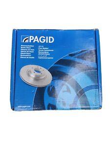 GENUINE PAGID REAR AXLE SOLID BRAKE DISCS 53955 VW AUDI SKODA SEAT 104440748