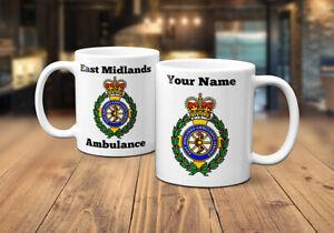 East Midlands Ambulance Service (EMAS) Personalised Coffee/Tea Mug
